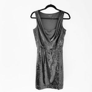 WHBM sequin party coctail dress